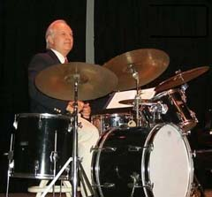 Tom Cooley is also a jazz drummer.